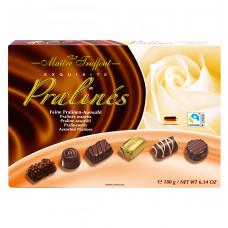 Шоколадные конфеты Maitre Truffout:Ассорти пралине, 180 г