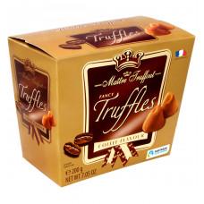 """Конфеты Maitre Truffout """"Трюфель с кофейным вкусом"""", 200 г"""