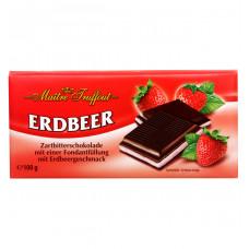 Шоколад Maitre Truffout со вкусом клубники, 100 г