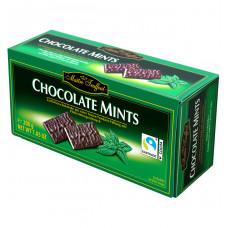 Тёмный шоколад Maitre Truffout с мятной начинкой в пластинках, 200 г