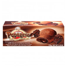 Печенье Papagena песочное с шоколадно-кремовой начинкой, 150 г