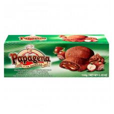 Печенье Papagena песочное с орехово-кремовой начинкой, 150 г