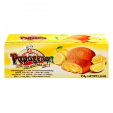 Печенье Papagena песочное с начинкой с ароматом лимона, 150 г