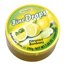 Карамель Woogie леденцовая со вкусом лимона, 200 г