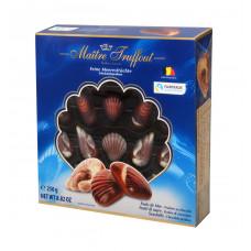 """Конфеты шоколадные Maitre Truffout  """"Дары моря"""" с ореховой начинкой, 250 г"""