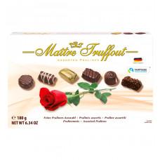 Конфеты шоколадные Maitre Truffout Ассорти пралине, 180 г