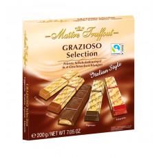 """Шоколадные конфеты Maitre Truffout """"GRAZIOSO итальянский стиль"""" 200гр"""
