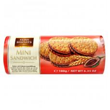 Печенье Feiny Biscuits с какао-кремовой начинкой 180 г