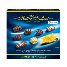Конфеты шоколадные Maitre Truffout ассорти пралине, 200 г