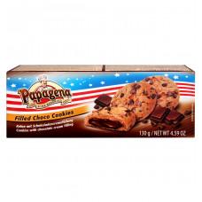 Печенье Papagena с шоколадно-кремовой начинкой, 130 г