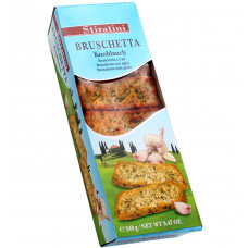 Bruschetta с чесноком, петрушкой и оливковым маслом, 240 г