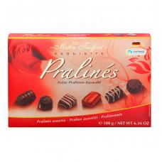 Конфеты шоколадные Maitre Truffout Ассорти пралине, 180г