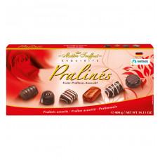 Конфеты шоколадные Maitre Truffout Ассорти пралине, 400г