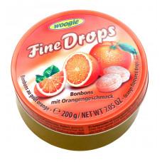 Карамель Woogie леденцовая со вкусом апельсина, 200 г