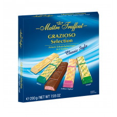 "Шоколадные конфеты Maitre Truffout ""GRAZIOSO Selection Classic Style"", 200 г"