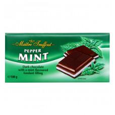 Шоколад Maitre Truffout со вкусом мяты, 100 г