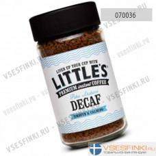 Растворимый кофе:  Little`s без кофеина 50гр