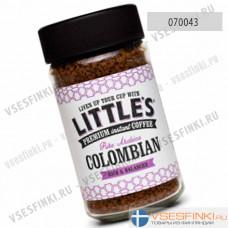 Растворимый кофе:  Little`s Колумбия 50 гр