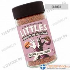 Растворимый кофе:  Little`s Шоколад с карамелью 50гр