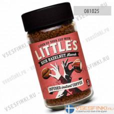 Растворимый кофе:  Little`s Лесной орех 50гр