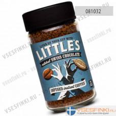 Растворимый кофе:  Little`s Швейцарский шоколад 50гр
