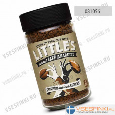 Растворимый кофе:  Little`s Амаретто 50 гр