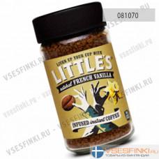 Растворимый кофе:  Little`s Ваниль 50 гр