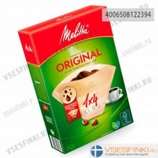 Фильтры для кофе: Melitta Original №2 40шт (1x4/80)