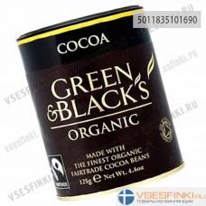 Какао Green & Black´s органический 125гр