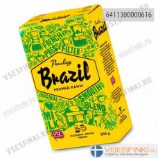 Молотый кофе: Paulig Brazil 500г. Паулиг Арабика