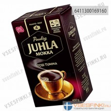 Молотый кофе: Paulig Juhla Mokka Tosi Tumma 450гр
