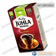 Молотый кофе: Paulig Juhla Mokka Luomu 400гр