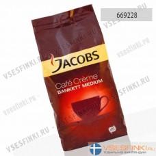 Кофе в зернах: Jacobs Bankett Medium 1кг