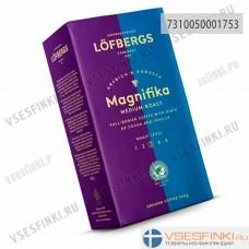 Молотый кофе: Lofbergs Lila Magnifika Rain-Forrest 500г.