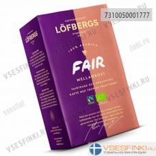 Молотый кофе: Lofbergs Lila Fair Mellanrost 450гр
