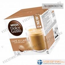 Cafe Au Lait Nescafe Dolce Gusto 30шт.