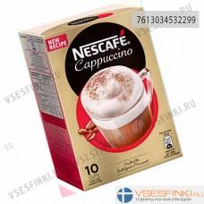 Растворимый кофе: Nescafe Cappuccino: купить 125гр