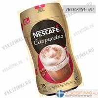 Растворимый кофе: Nescafe 225гр Cappuccino