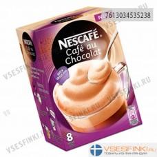 Растворимый кофе: Nescafe Cafe au Chocolat 8шт/144гр