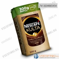 Растворимый кофе: Nescafe Kulta 300г Refill. Цена