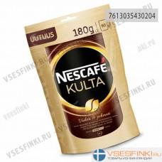 Растворимый кофе: Nescafe Kulta 180г Refill.