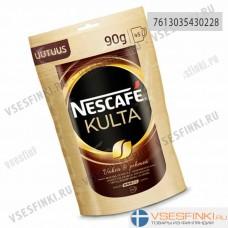 Растворимый кофе: Nescafe Kulta (Культа) 90г Refill.