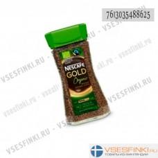 Растворимый кофе: Nescafe Gold organic 100гр