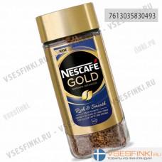 Растворимый кофе: Nescafе Gold без кофеина 100гр