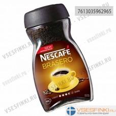 Растворимый кофе: Nescafe Brasero 100гр ст/б.