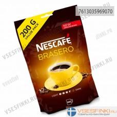 Растворимый кофе: Nescafe Brasero 200гр