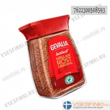 Растворимый кофе: Gevalia (в стеклянной банке) 100гр