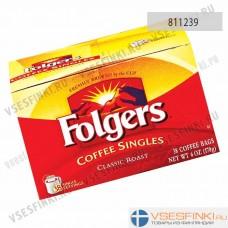 Растворимый кофе:  Folgers Roast Coffeе классический 170гр