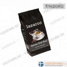 Кофе в зернах: Lazarro Espresso Dark Roast 1кг