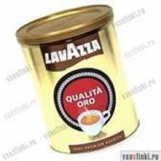 Молотый кофе: Lavazza Qualita Oro 250г ж/б